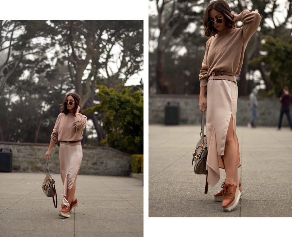 slip dress for fall