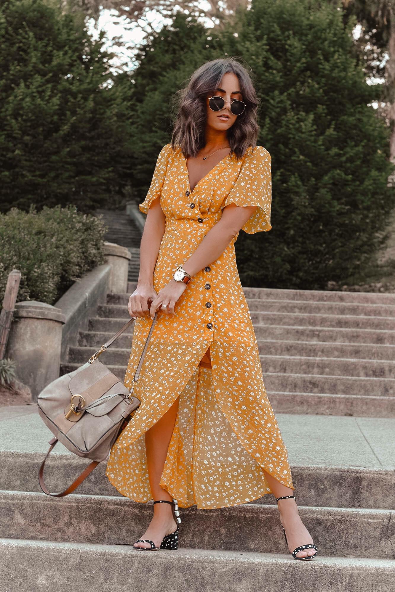 yellow dress 4