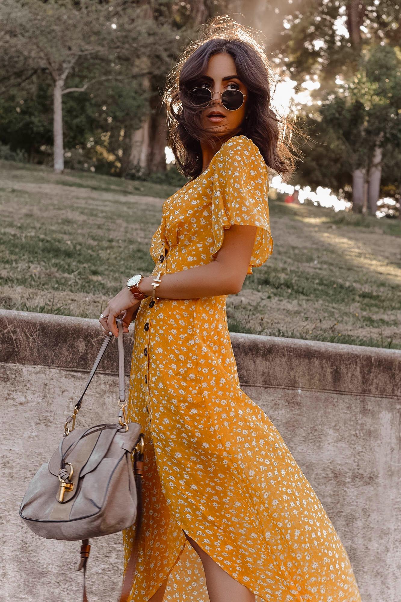 yellow dress 7